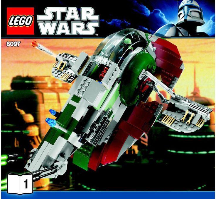 Star Wars - Slave I [Lego 8097]