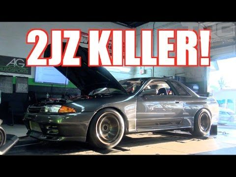 10) 2JZ Killer hits the Dyno and weight scale! - TRC R32 GTR Build