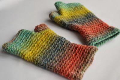 NA HÁČIKU: Dámske bezprstové rukavice