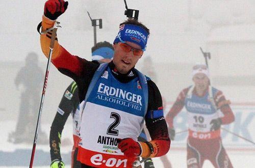Кубок мира: Симон Шемп выиграл спринт в Антерсельве