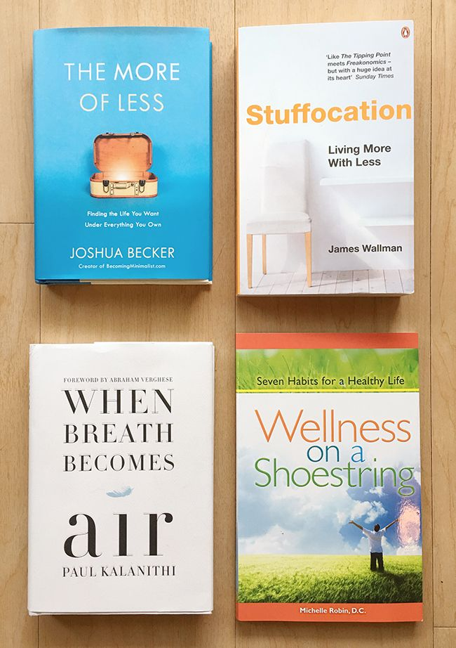 The More of Less and 10 Other Books that Changed Me. #bemorewithless