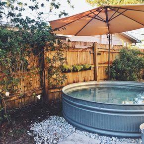 Stock tank pools: découvrez les nouvelles piscines dans des cuves en métal!
