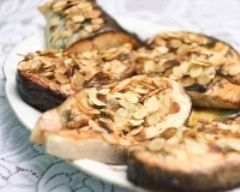 Darnes de saumon grillées aux amandes (facile, rapide) - Une recette CuisineAZ