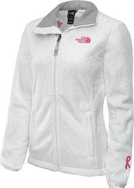 THE NORTH FACE Women's Pink Ribbon Osito Jacket