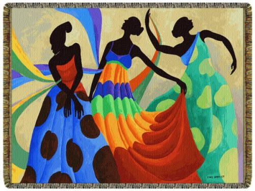 Lashun Beal | It's A Black Thang.com - African American Home Decor - Throws