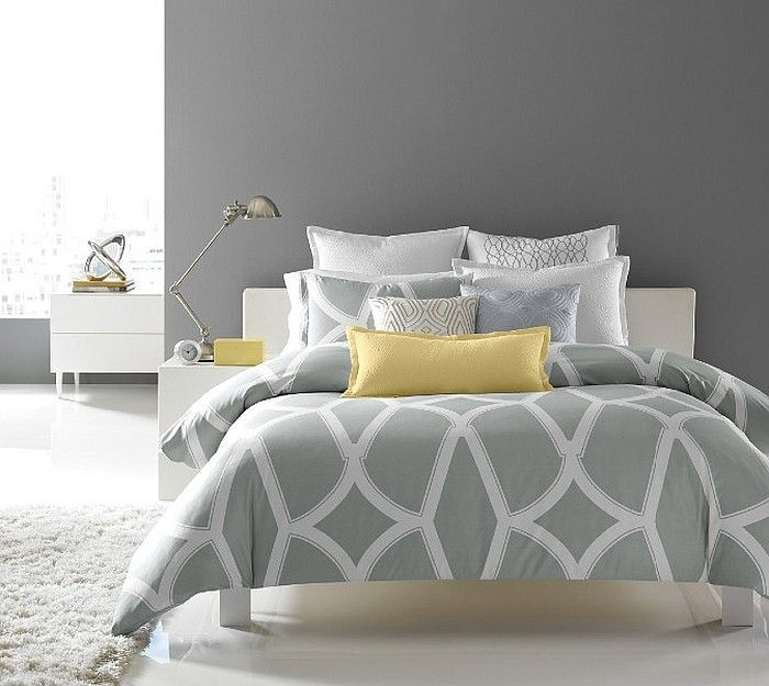 Gray And Yellow Master Bedroom Ideas Part - 41: Cheerful Sophistication: 25 Elegant Gray And Yellow Bedrooms