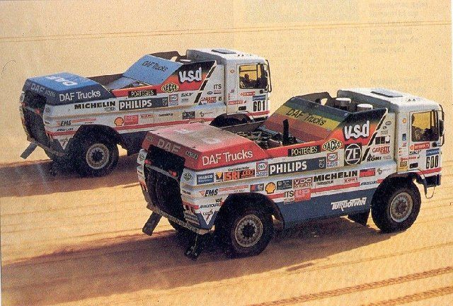 DAF Turbo Twin II Duo parijs Dakar