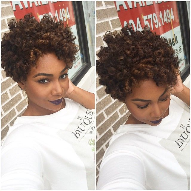 Highlights And Flexi Rod Set For Natural Hair C
