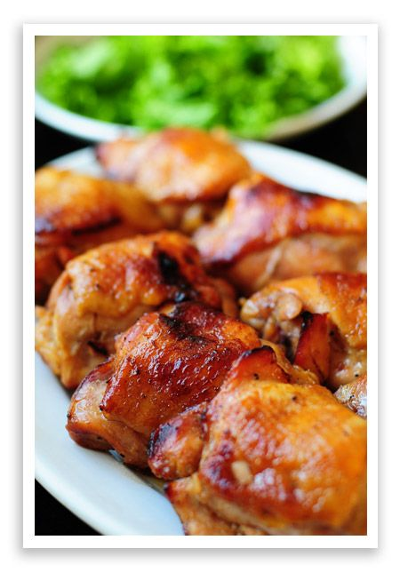 Honey & Soy Baked Chicken - best when used as a marinade