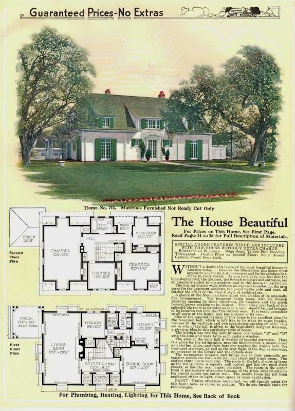 The Gordon Van Tine  Brentwood   Model. 1080 best Sears Kit Houses images on Pinterest