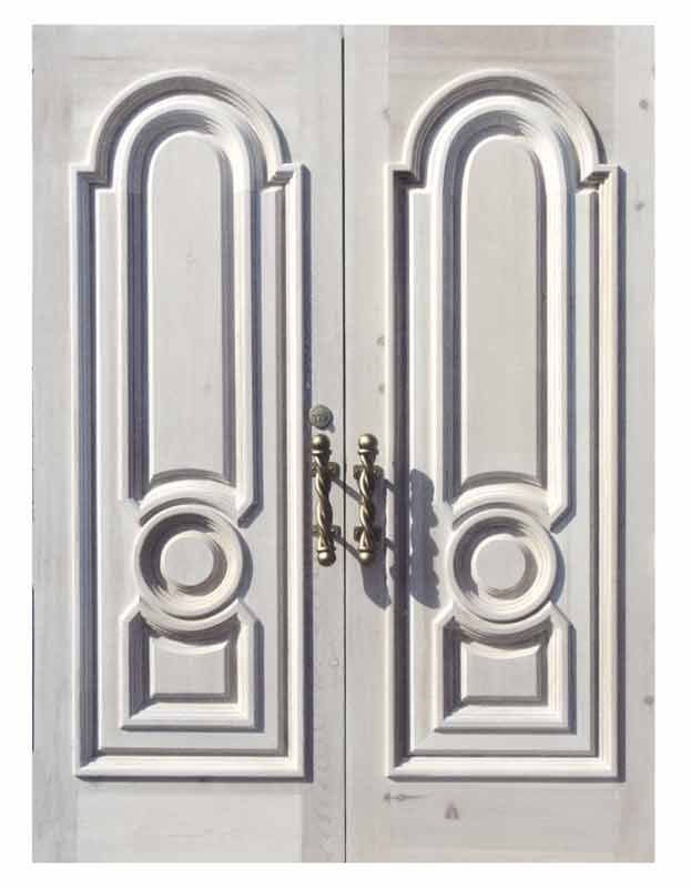 Entry Doors - 17th Cen Castle of Ardenne Style - 2458RP