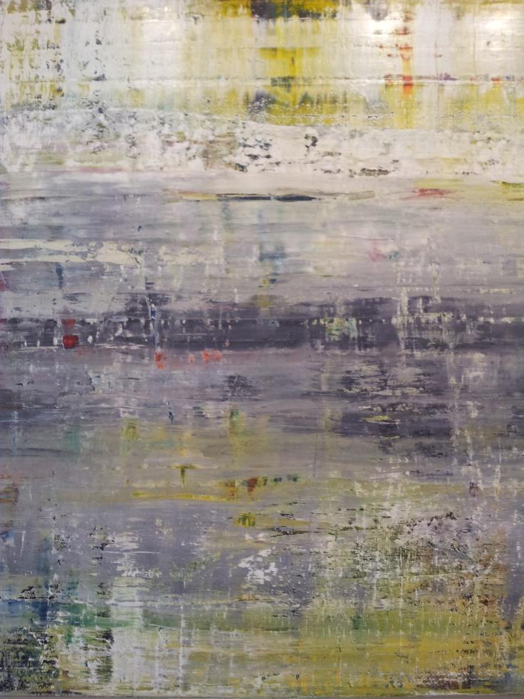 Gerhard Richter  expo Panorama au Centre Pompidou