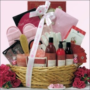 Bath & Body Spa Gift Basket