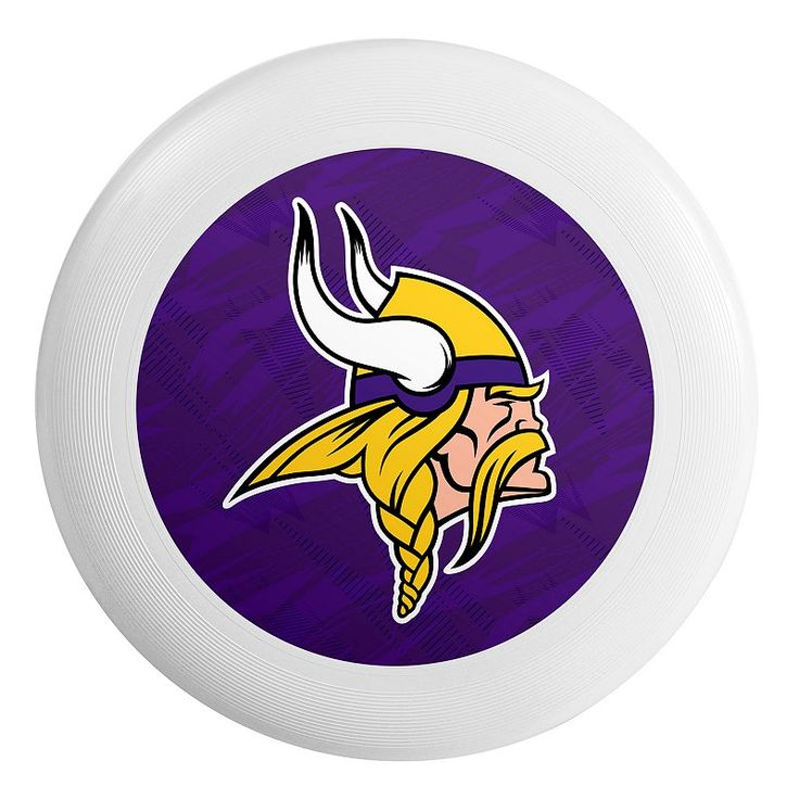 Forever Collectibles Minnesota Vikings Flying Disc, Multicolor
