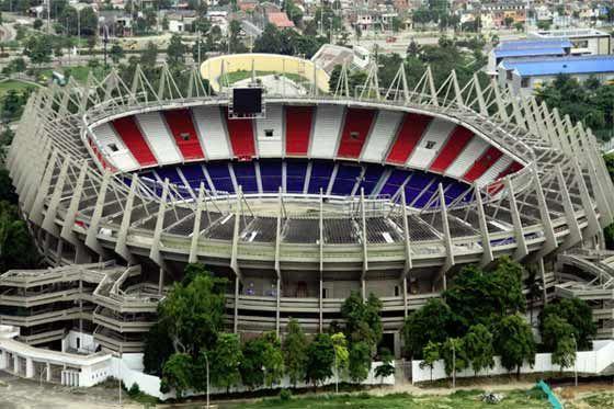 Estadio Metropolitano de #Barranquilla sede del Junior