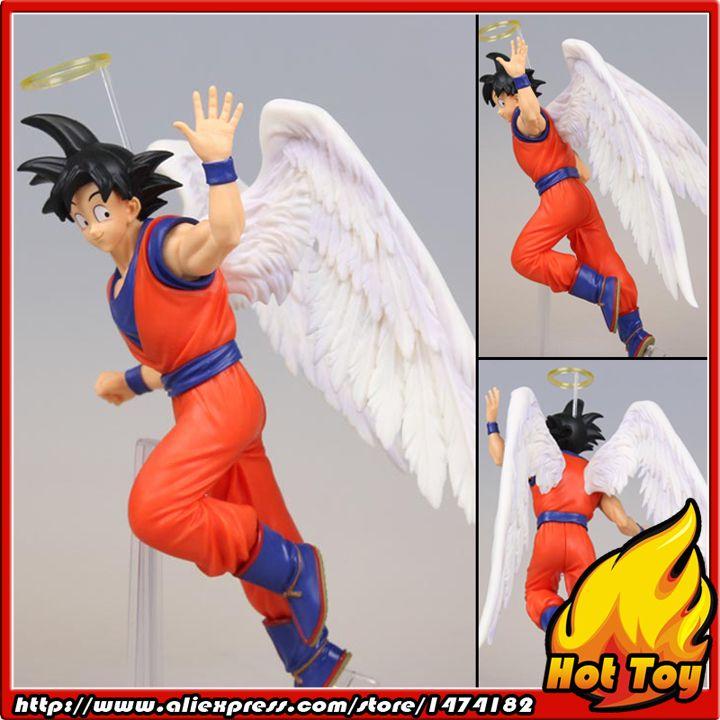 "100% Original Banpresto DRAMATIC SHOWCASE 5th season vol.1 Collection Figure - Son Goku (Angel ver.) from ""Dragon Ball Z"""