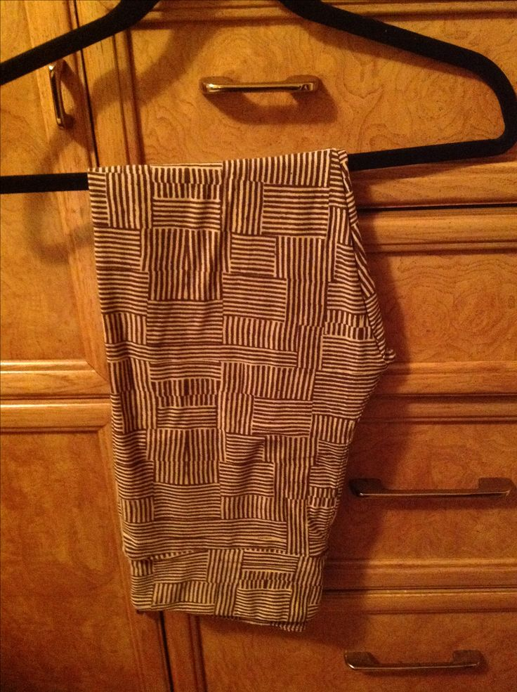 Beige and Brown leggings /Colbie Maraschiello