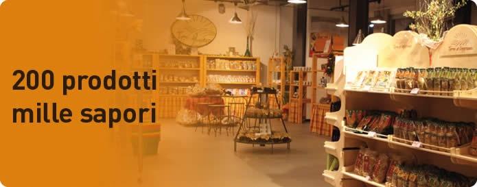 il negozio Terre di Loppiano