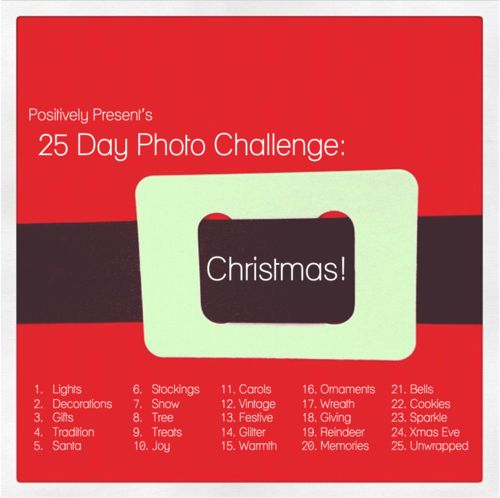 Christmas Photo Challenge - may be just what I need to get reinspired on my photography!