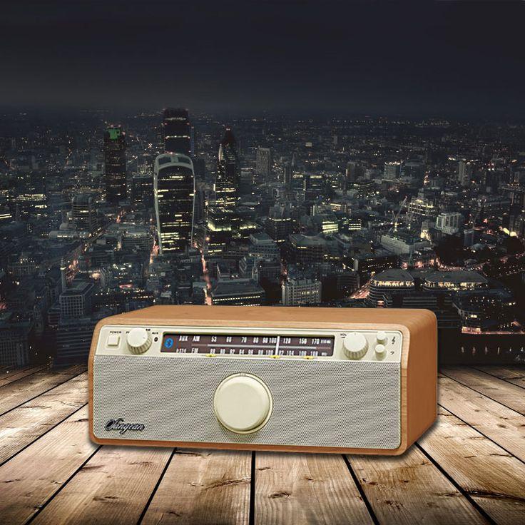 Retro AM/FM stereo radio / Bluetooth speaker