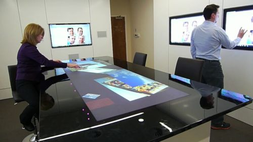 Collaborative office idea office technology pinterest for Innovative office space ideas