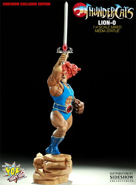 Sideshow Collectibles - Lion-O Mixed Media Statue