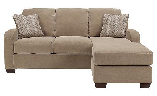 Circa - Taupe Queen Sofa Chaise Sleeper at Ashley Furniture Homestores