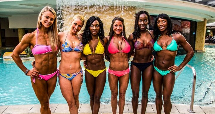Fitness competition diet - interesting!