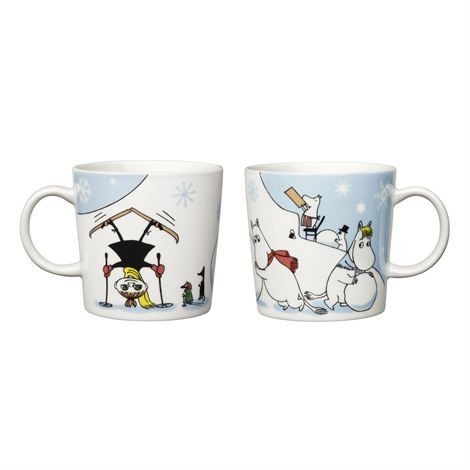 Moomin mug 2011 - Winter Games