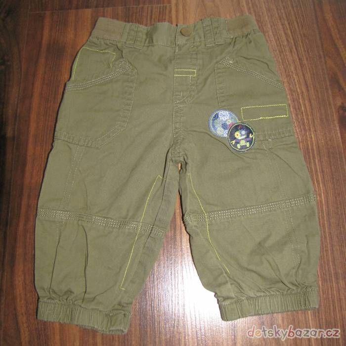 Lehké bavlněné kalhoty zn. Cherokee vel. 74 za 50 Kč | Detskybazar.cz