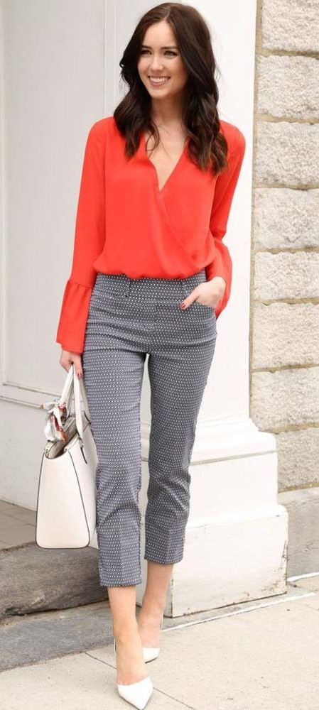 ba4340350a60a 30 Charming Spring Work Outfits To Wear To The Office. Modern Business  Outfit Ideas Business Casual, Business Fashion ...