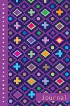 Patterned Journal Seven by Milena Martinez