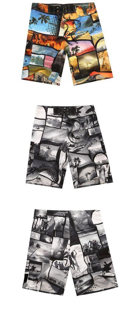 Faket  Men Leisure Beach Dri-Fit Shorts Swimwear Trunks Surf/Ruining/Basketball Cotton Polyester