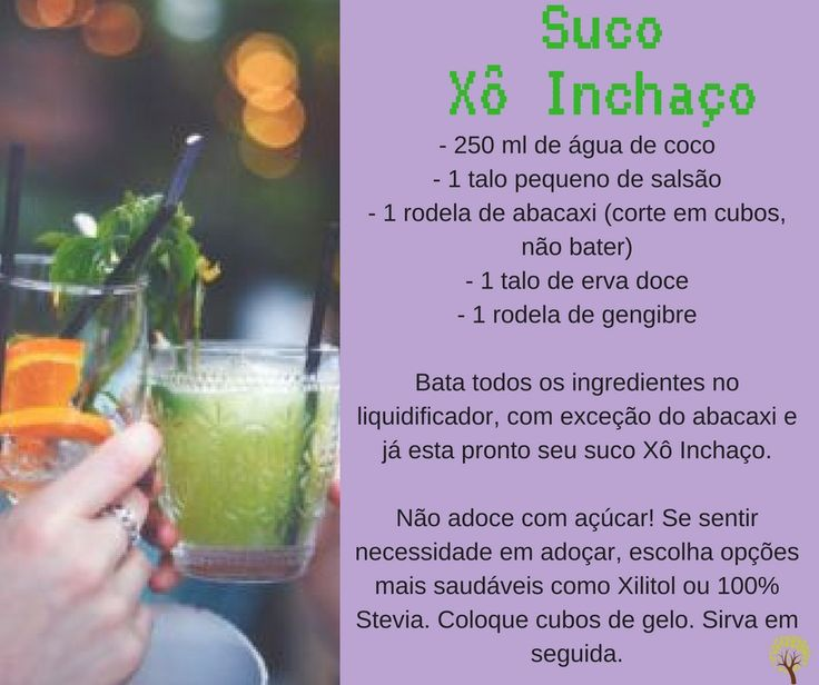 Sucos Detox: Confira essa e outras receitas de suco para ajudar a emagrecer, diminuir celulite e eliminar toxinas >>> http://existirbem.com.br/suco-detox-xo-celulite/ 👈