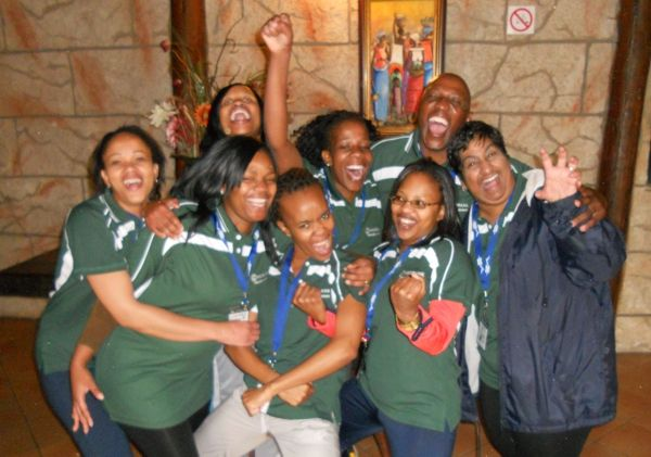 Team builing at Madidaba Game and Conference Lodge