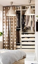 from this page; http://www.ikea.com/us/en/catalog/products/30176309/  I want something like Ikea's PAX Wardrobe installed into my closet but not as expensive...