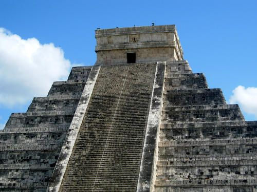 Chichen Itza Mexico One Of The New Wonders Of The World - 7 ancient ruins of central america