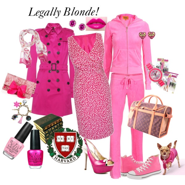 I absolutely LOVE Legally Blonde! Have you seen Legally Blonde The Musical? If not, It's a MUST see! :)