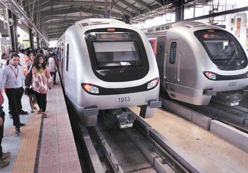 Mumbai Metro One Google Maps @TheTinuku