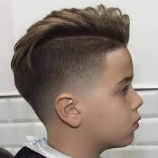 Resultado de imagen para corte de cabello para niño moderno