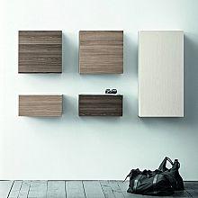 Contemporary Italian hallway furniture set Square by Birex