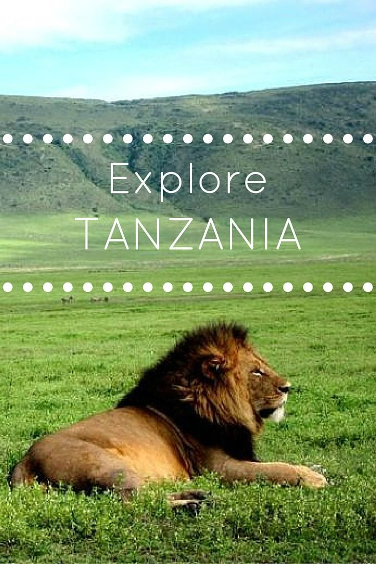 111 best visit tanzania images on pinterest october for Best places to travel in october in the us