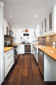 Vancouver - Shaughnessy Condo Kitchen contemporary kitchen