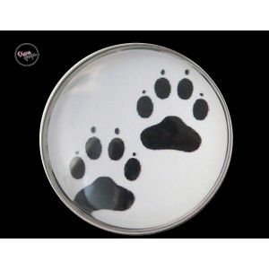Pets Paws, 20 mm glass snap! Visit: http://www.dianasnaps.com/partner/LauraG