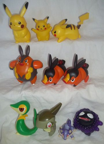 Pokemon Nintendo Game Figures Toys Lot 10 Cake Toppers 3 5 Quot Tepig Pikachu Ebay Libby S Finds