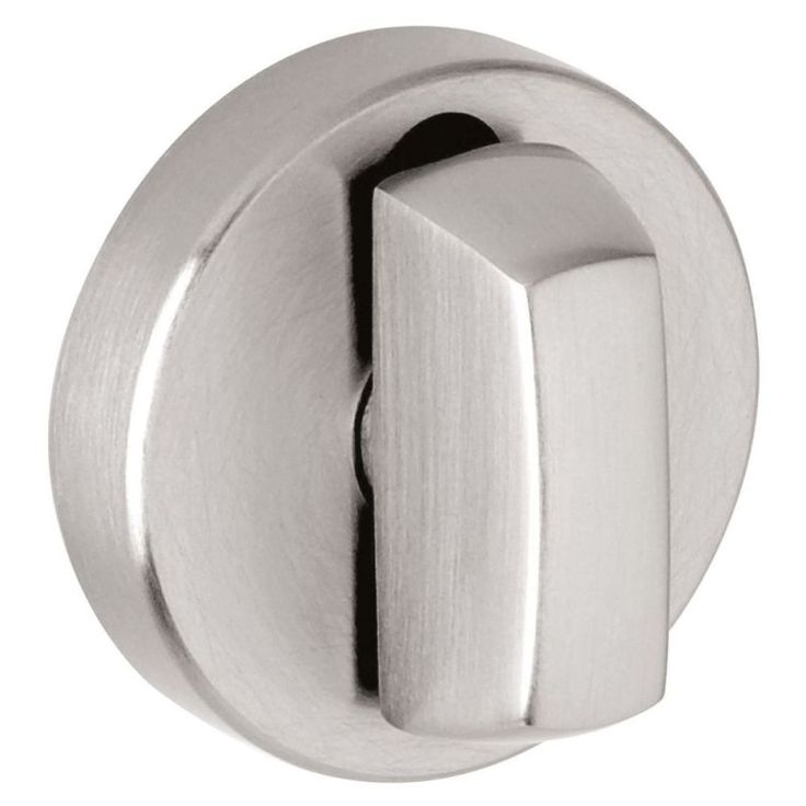 Baldwin 6760s Interior And Entrance Thumb Turn Lock With Backplate For 3 Doors Satin Stainless