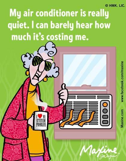 quiet air conditioner | Maxine for 2014-06-19