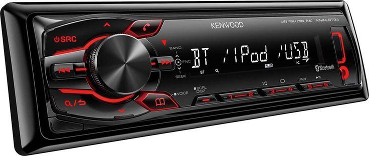 Kenwood KMM-BT34 Car CD Radio Tech Specs: MP3 player and 24 preset stations
