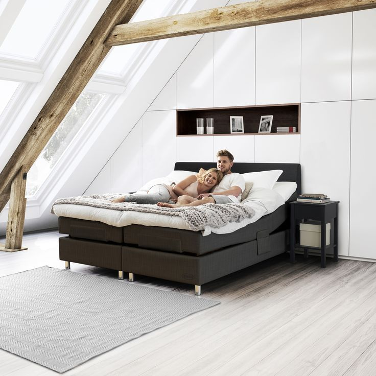 Choose adjustable freedom. With our app for adjustable beds, you can easily find you favourite position.