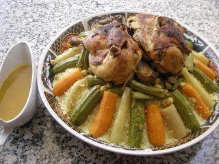 كسكس بالخضر للمبتدئات (couscous with vegetables) | الولاء لطبخ